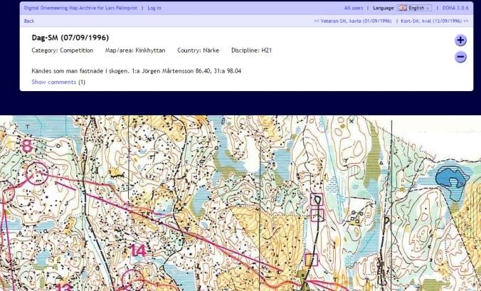 """""""Kändes som man fastnade i skogen."""" -klassisk palmqvist-kartarkiv-oneliner. Kan inget annat än att hålla med om detta. (http://www.domarstigen.se/doma/show_map.php?user=palmis&map=1509)"""